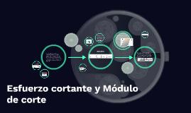 Copy of Esfuerzo cortante y Modulo de corte