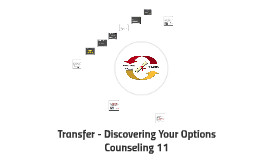 Transfer - Discovering Your Options
