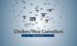 Chicken/Rice Cannelloni