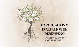Copy of CAPACITACION Y EVALUACION DE DESEMPEÑO