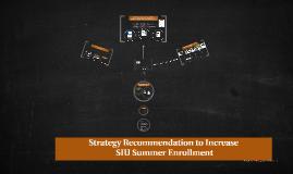 Increase SIUC Summer Session Enrollment