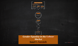 Gender Equality in the Labour Market