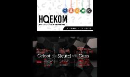 Hoekom glo? - DDFG'18