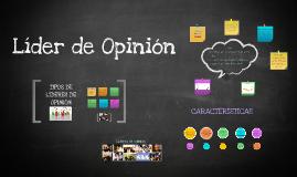 Copy of Líder de opinión