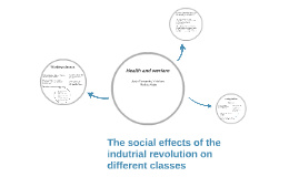 The social effects of the indutrial revolution on different