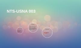 NTS-USNA 003