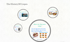 The History Of Crepes