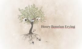 Henry Bennion Erying
