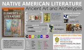 ENCOUNTERS: Native American Literature (2016)