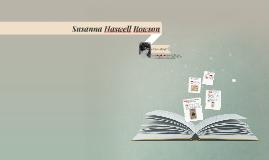 Susanna Haswell Rowson