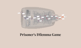 Prisoner's Dilemma Game