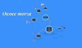 Copy of Owoce morza