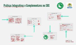 Práticas Integrativas e Complementares no SUS