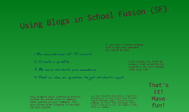 Using MultiMedia Blog With Students