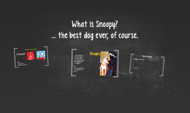 What is Snoopy?