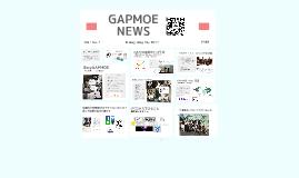 GAPMOE NEWS