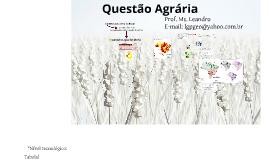 Sínt_Questão Agrária