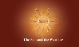 The Sun and the Weather