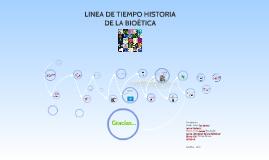 Copy of LINEA DE TIEMPO HISTORIA DE LA BIOÉTICA