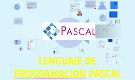 LENGUAJE DE PROGRAMACION PASCAL