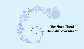 The Zhou (Chou) Dynasty Government