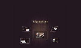 Salgsassistent