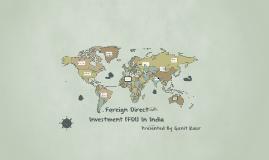 Copy of FDI In India