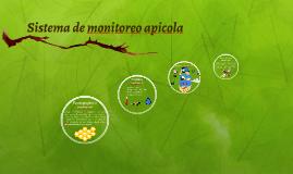 Sistema de monitoreo apicola