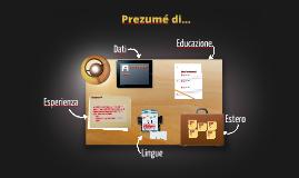 Desktop Prezumé per i Cosmopoliti Digitali