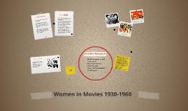 Women in Movies 1930-1960