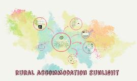 rural accommodation sunlight
