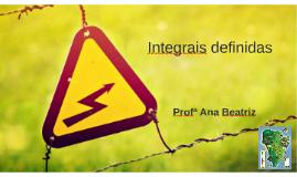Integrais Definidas