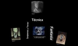 Tecnica narrativa (suspenso y terror)