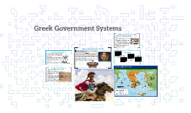 Greek Government Systems
