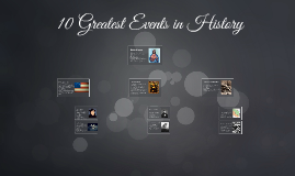 10 Greatest Events in History