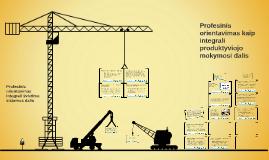 Produktyviojo mokymosi ir profesinio orientavimo sąsajos