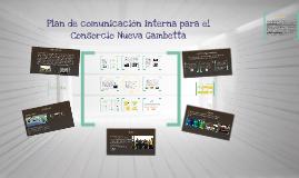 Plan de comunicación interna para el Consorcio Nueva Gambetta