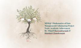 Copy of MDM4U (Mathematics of Data Management) Culminating Project
