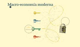 Macroeconomía moderna