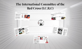 The International Committee of the Red Cross (I.C.R.C)