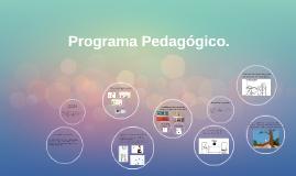 Programa Pedagógico.