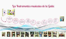 Copy of Los Instrumentos musicales de la Gaita