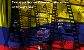 Copy of cine y poetica panorama historiografico