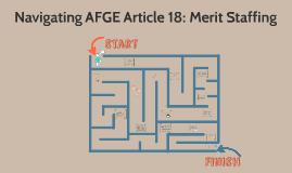Article 18: Merit Staffing