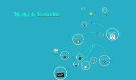 Copy of Copy of Niveles de Iconicidad