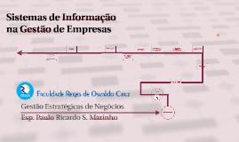 Sistemas de Informação na Gestão de Empresas