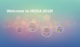 Welcome to HOSA 2017!