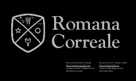 Romana Correale Career Day