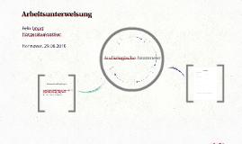 Copy of Arbeitsunterweisung