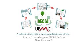 A extensão universitária na pós-graduação em Direito
